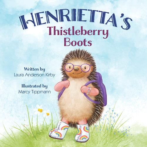 Henrietta's Thistleberry Boots byLaura Anderson Kirby