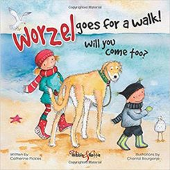 Little parachutes childrens picture book review badgers worzel goes for a walk will you come too by catherine pickles fandeluxe Images