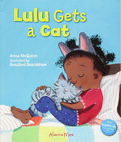 Lulu Gets a Cat by Anna McQuinn
