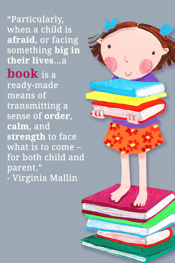 A book transmits order, calm and strength to face what is to come